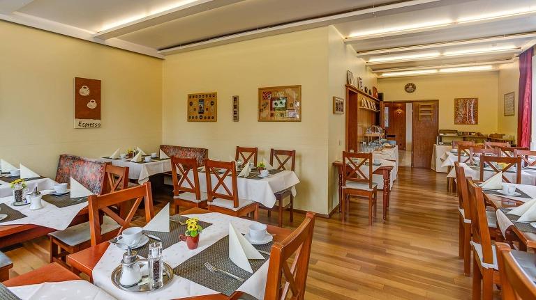 Frühstücksraum Hotel Kleve durch Plan B Fotografie