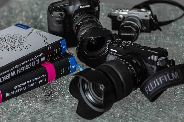 Kameraequipment für jede Art von Auftrag